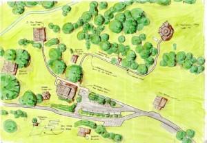 Bundagen site map - low resolution